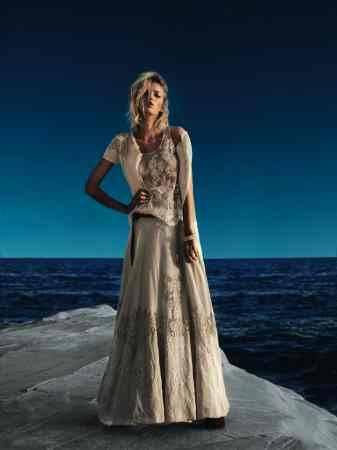 the best attitude 0a1fe d677b Twin Set Simona Barbieri: abito lungo, che passione per l ...
