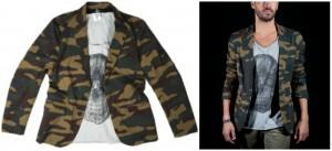 blazer camouflage david lory ss 2012