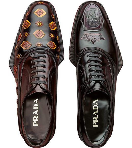 timeless design 1df2b b7a29 Prada: le calzature maschili per l'Autunno Inverno 2012 2013 ...