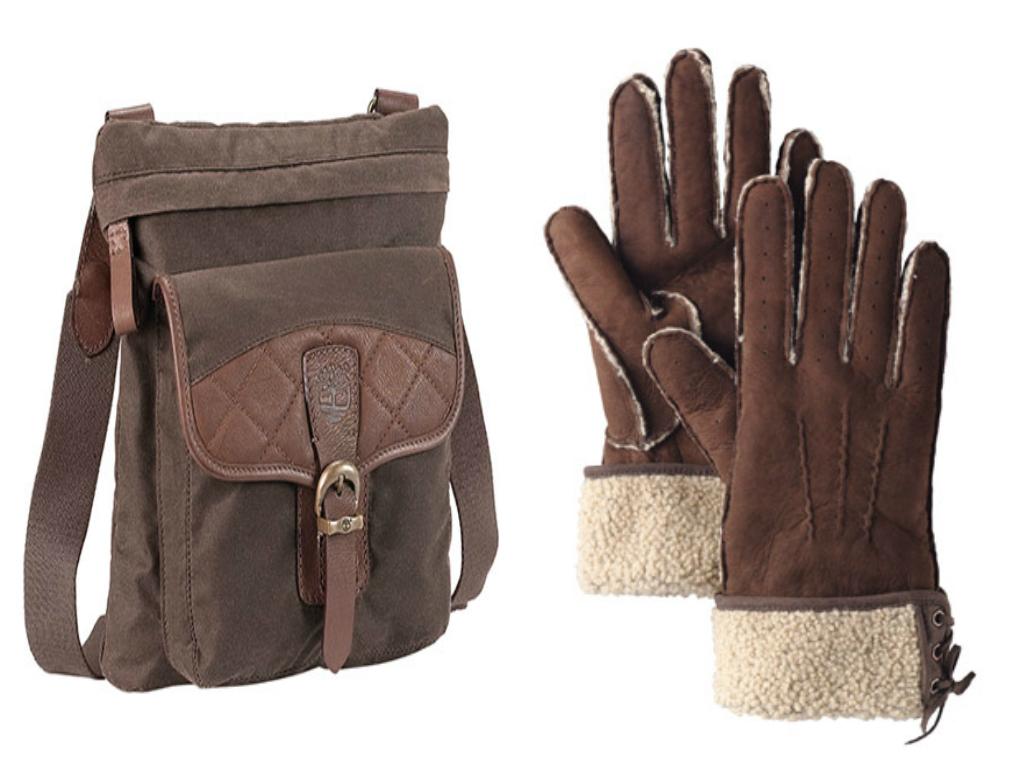timberland borsa e guanti earthkeepers 2012 realizzati con materiali  riciclati 3170c4c0049