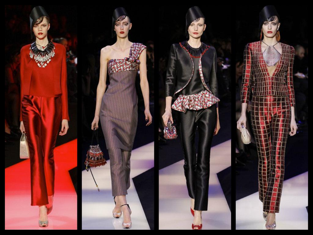 dfbb22730a giorgio armani privè alta moda donna primavera estate 2013 sfilata ...