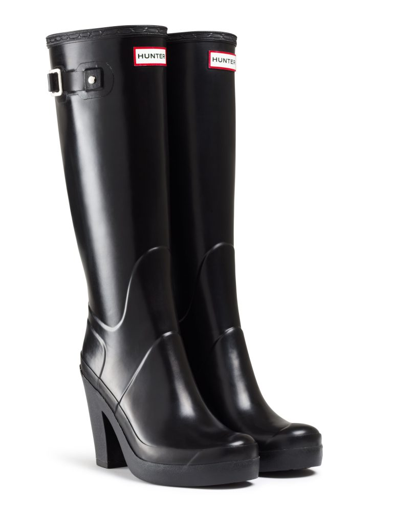brand new e5cd8 68c5b Hunter mette i tacchi sugli stivali da pioggia! (foto)   Drezzy