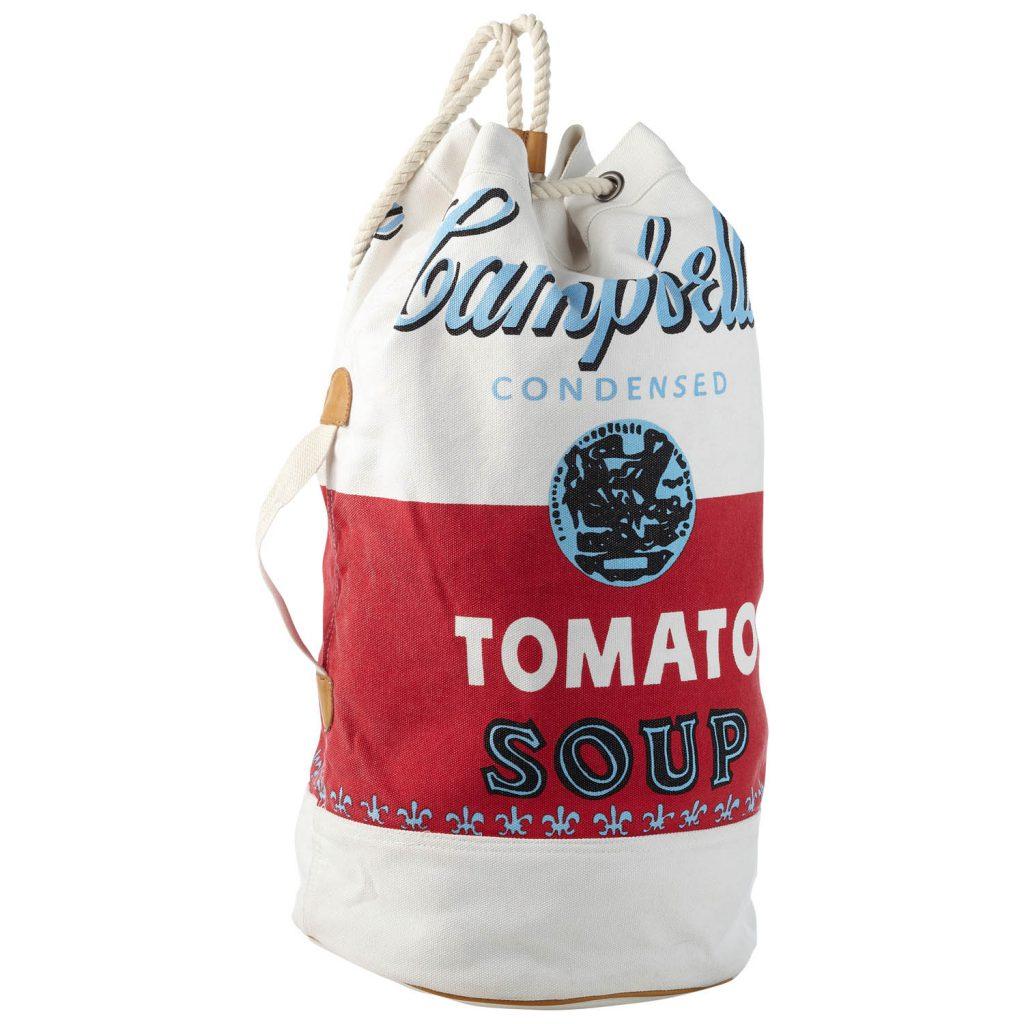 Andy warhol by pepe jeans stampe iconiche per la for Barattoli di zuppa campbell s
