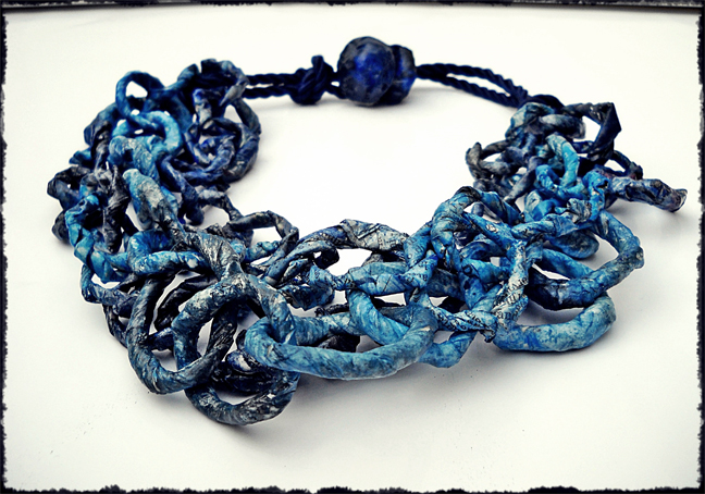 blue chain - collana