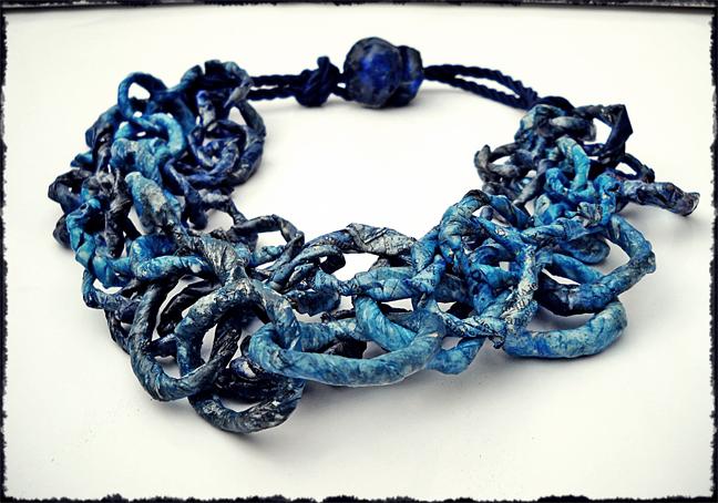 blue chain - collana