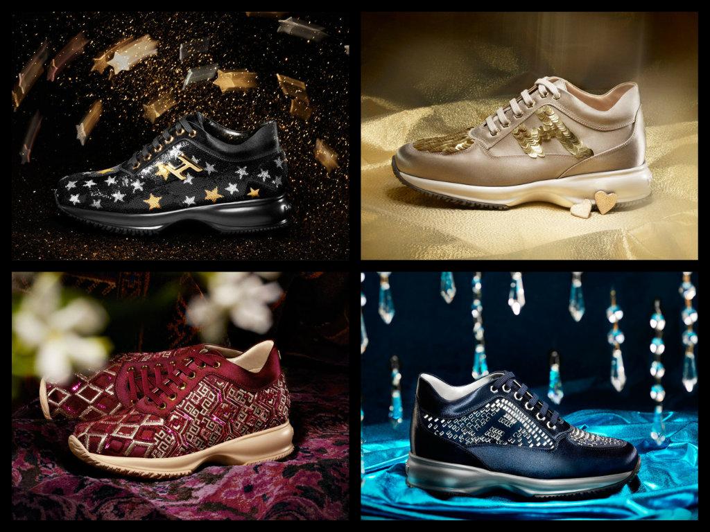 scarpe hogan interactive con swarovski