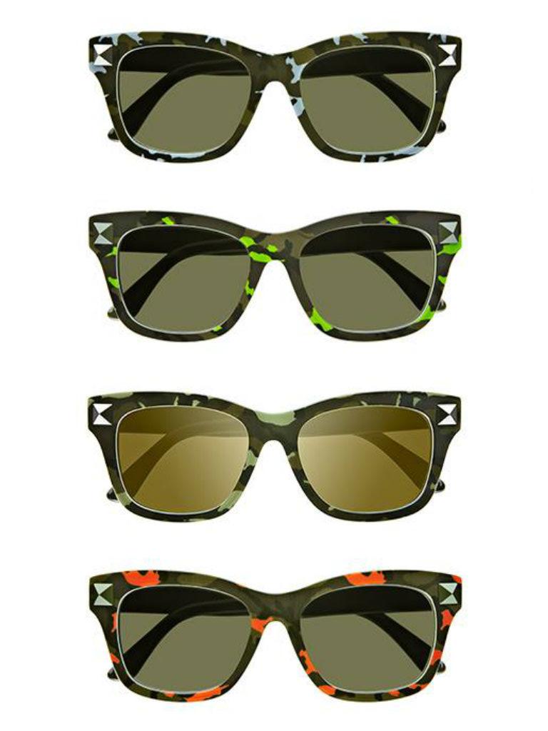 Valentino occhiali da sole camulook modalab drezzy for Pubblicita occhiali da sole