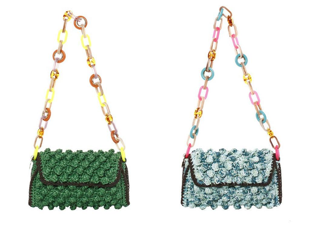 Le Borse M Missoni Rafia Bag Primavera Estate 2014 Modalab Drezzy