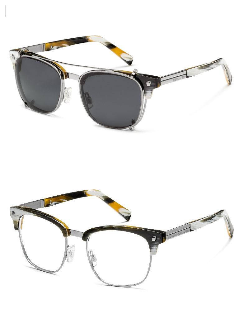 Dsquared2 occhiali i modelli doppi cool cats modalab for Occhiali da vista da sole