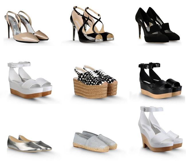 best sneakers c6d7d fc8ee Stella McCartney scarpe: i sandali con la zeppa e la stella ...