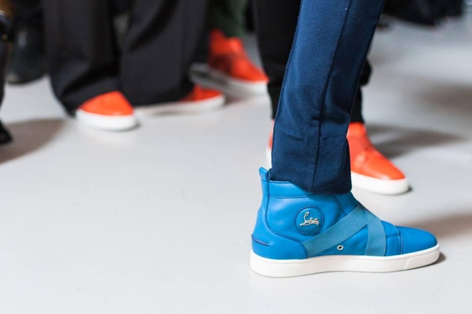 Christian Louboutin sneakers uomo Autunno Inverno 2015 2016. Di Paola Maria  Grandi · christian louboutin sneakers per collezione todd lynn f57c71eb921