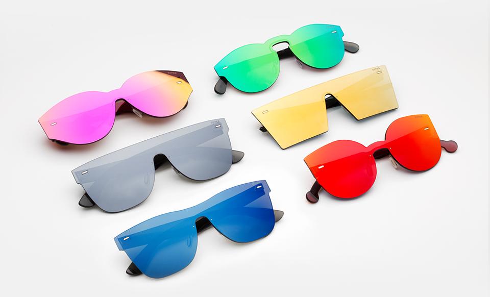 Gli occhiali tuttolente di retrosuperfuture drezzy - Occhiali da sole specchiati spektre ...