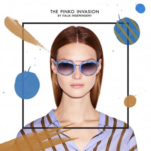 quality design 9dee1 b833e Gli occhiali firmati Pinko e Italia Independent | Drezzy