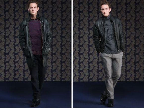 finest selection ea6ba fe677 Tru Trussardi abbigliamento uomo: pelle per la collezione ...