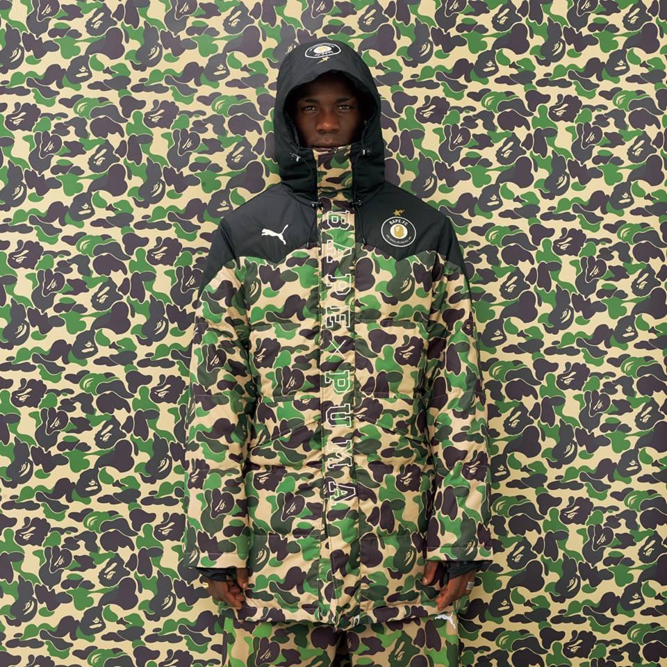 bape puma collezione camouflage
