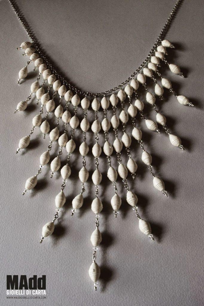 Favoloso Accessori moda: MAdd, i gioielli di carta glam! (foto) | Drezzy BQ85