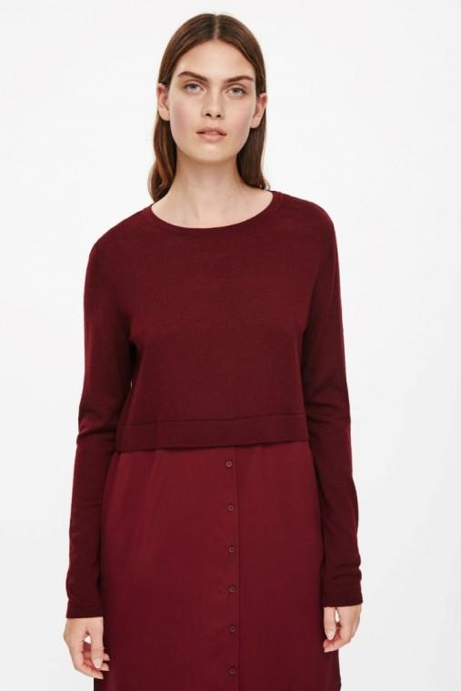 ottima vestibilità ae4bb fa18c Cos abbigliamento donna: minimal per l'inverno 2016 (foto ...