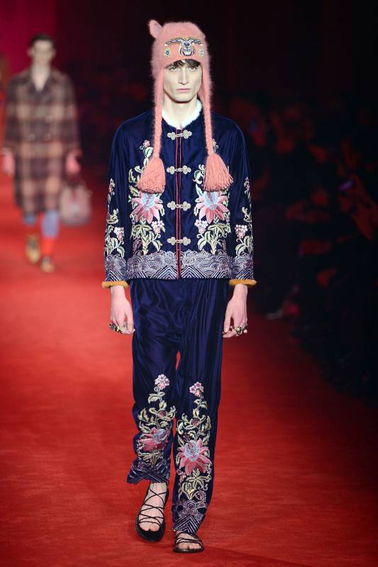 best website 58c9c 70706 milano moda uomo gennaio 2016: Gucci, la collezione inverno ...