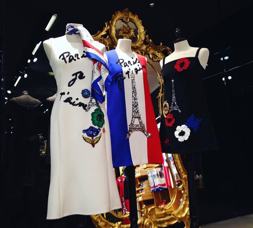 dolce e gabbana paris je t'aime collezione fashion week parigi 2016