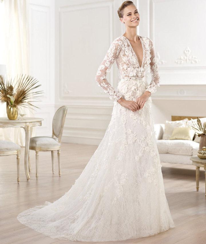 Scarpe Sposa Elie Saab.Elie Saab Abiti Sposa La Prima Collezione Bridal Foto Drezzy