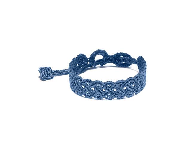 buy online 3444a e6e37 Cruciani: i bracciali in macramè per lui (foto) | Drezzy