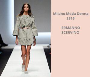 Milano Fashion Week Donna   26 September 2015. sfilata Milano Settembre  Ermanno Scervino 53613ca4534