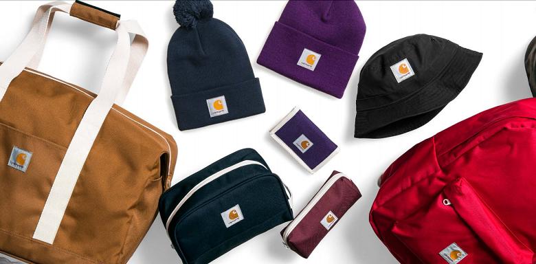 cappellino beanie carhartt con logo