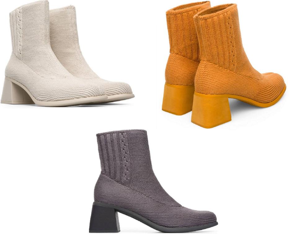 best service b9356 ce0ed camper-scarpe-in-maglia-con-tacco-collezione-autunno-inverno ...