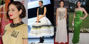 Vip Style, il look bon ton di Marion Cotillard