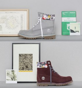 timberland boots collezione city pack berlino