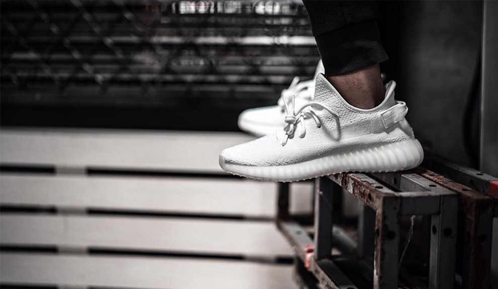 adidas yeezy boost 350 v2 all white bianche