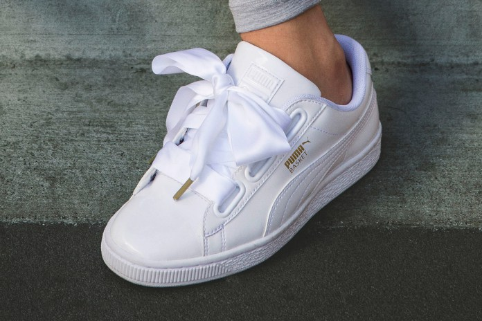 puma donna scarpe fiocco
