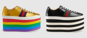 Gucci sneakers 2017 pleateau
