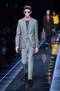 Milano Moda Uomo Gennaio 2017, la collezione di Armani
