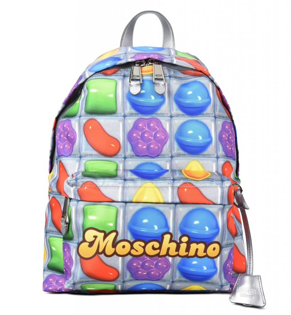 zaino moschino candy crush