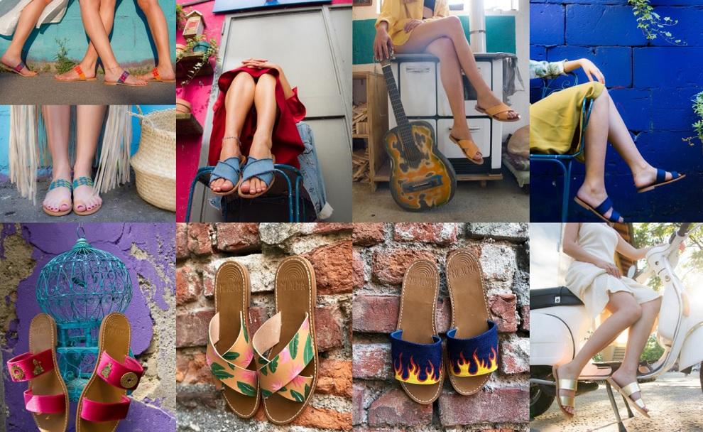 mi alma sandali personalizzati