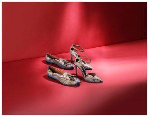 santoni scarpe damascate tessuti rubelli venezia