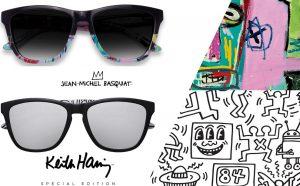 hawkers occhiali da sole basquiat e keith haring