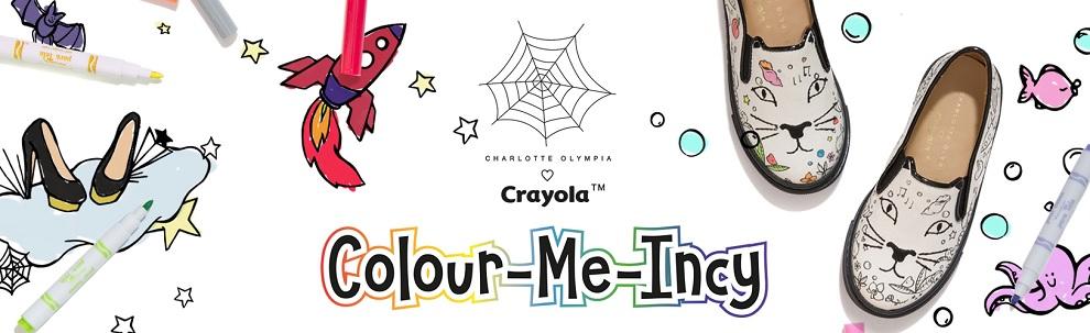 Scarpe Da Colorare Charlotte Olympia Drezzy