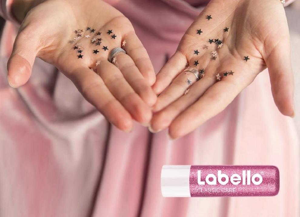 labello glitter edizione speciale con brillantini