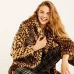 pull and bear giacca ecopelliccia stampa leopardo