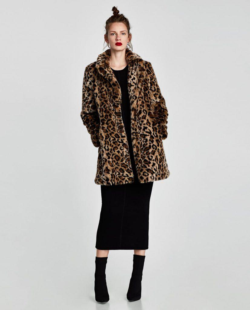 best cheap f484d c646c zara-cappotto-leopardato-ecopellicci | Drezzy