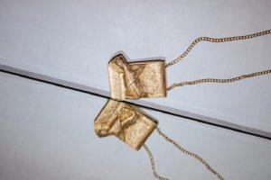 borsa oro con fiocco n°21