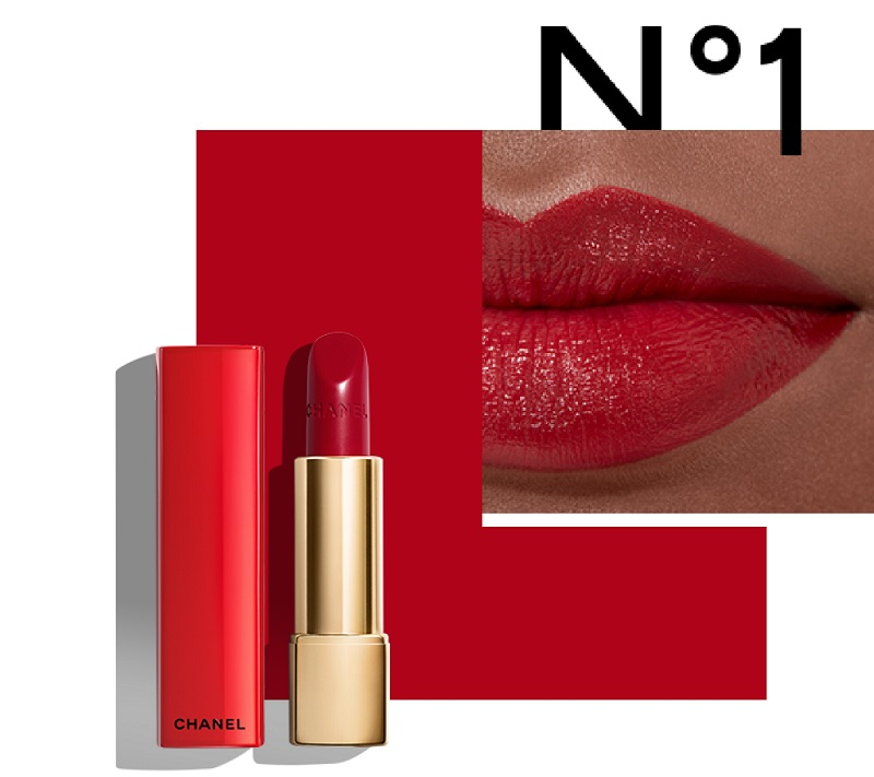 rossetto rosso chanel numéros rouges n.1 rosso lampone