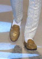 Milano moda uomo tendenze scarpe 2018