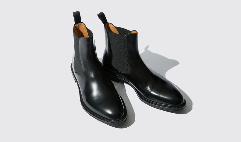 Chelsea Boots 'Jackson Charcoal' scarosso