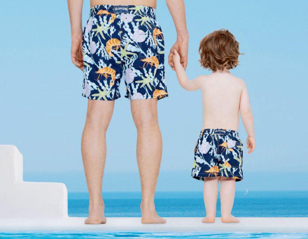a basso prezzo 25567 6e89c Costumi da mare Vilebrequin per bambini e papà   Drezzy