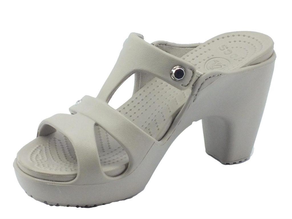 primeras sandalias Crocslas de Crocslas tacónDrezzy 0O8nPXwk